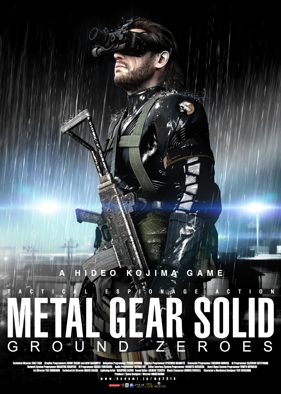 Metal Gear Solid: Ground Zeroes (PS4)