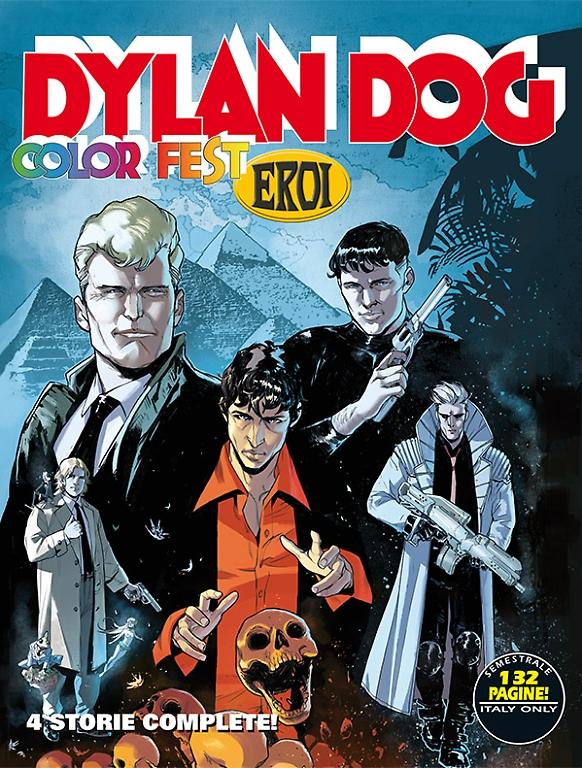 Un Dylan Dog a colori con tutti gli eroi Bonelli!