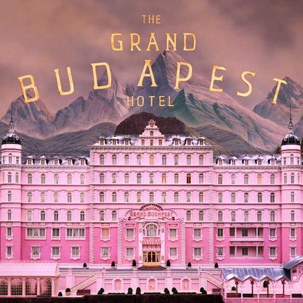 "Benvenuti al ""Grand Budapest Hotel"""