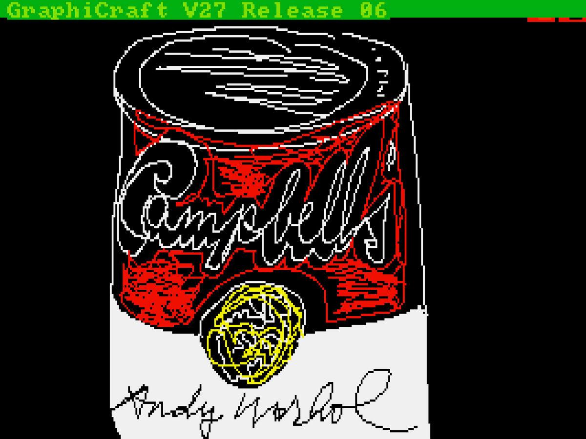 Andy Warhol, scoperte opere in digitale