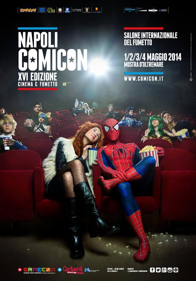 COMICON 2014:  alla scoperta di un mondo fatto di fumetto, games e cosplayers!