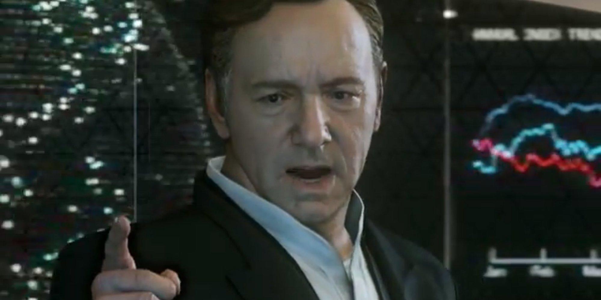 Call of Duty®: Advanced Warfare, il gioco che i fan di House Of Cards stano aspettando.