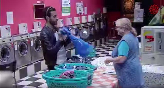 La finta lavanderia per tifosi italiani in Germania