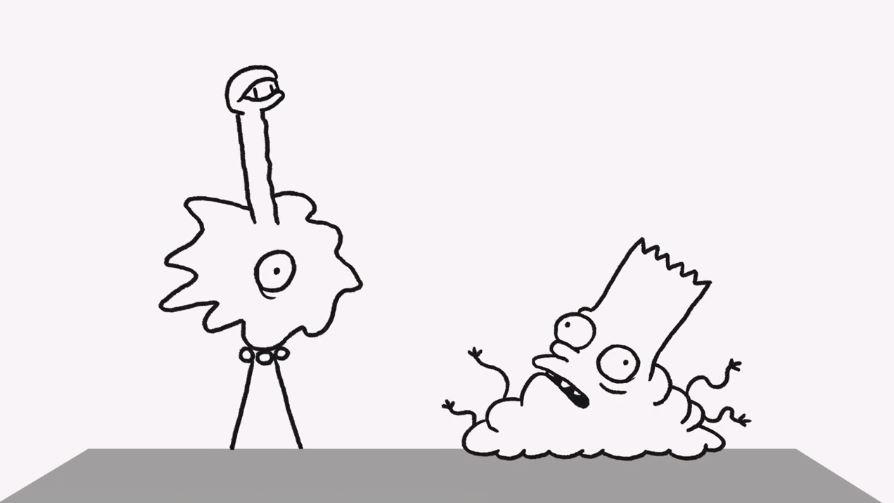 L'inquietante gag di apertura dei Simpson realizzata da Don Hertzfeldt
