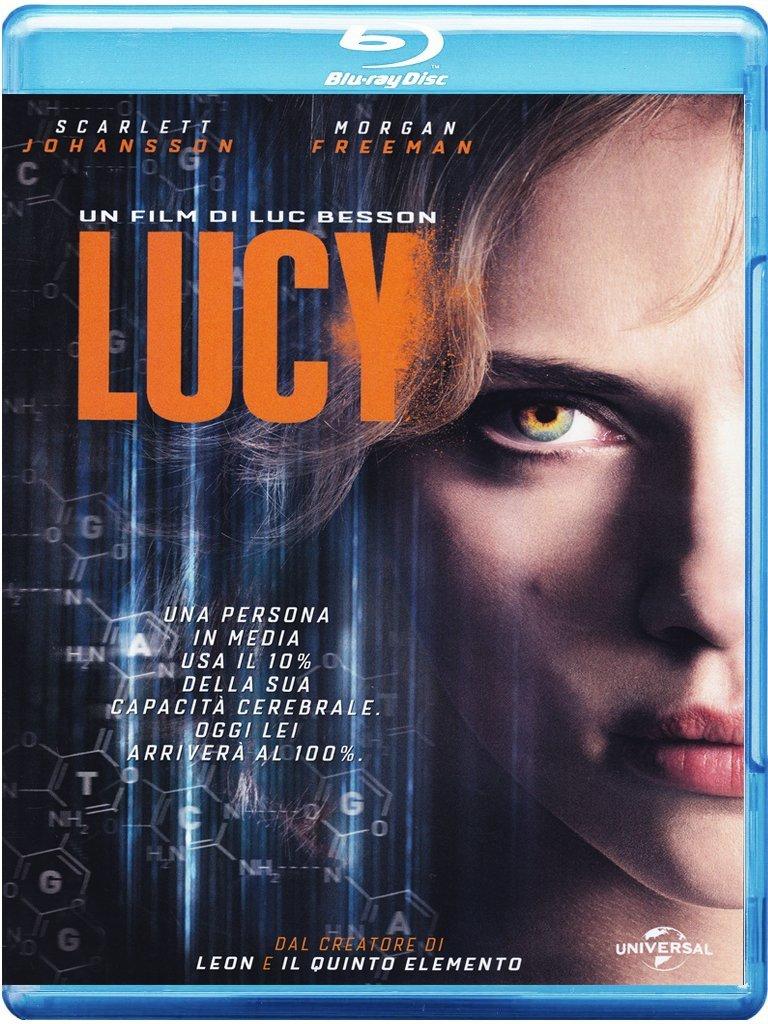 Lucy in Blu-ray, la nostra opinione