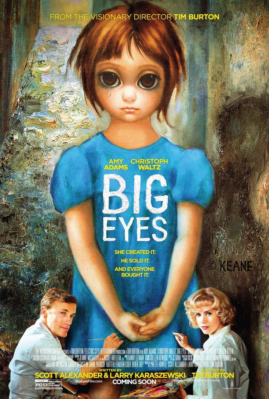 Big Eyes, una nuova estetica per Tim Burton?