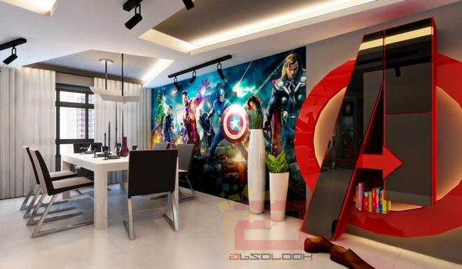 A Singapore una casa completamente dedicata agli Avengers