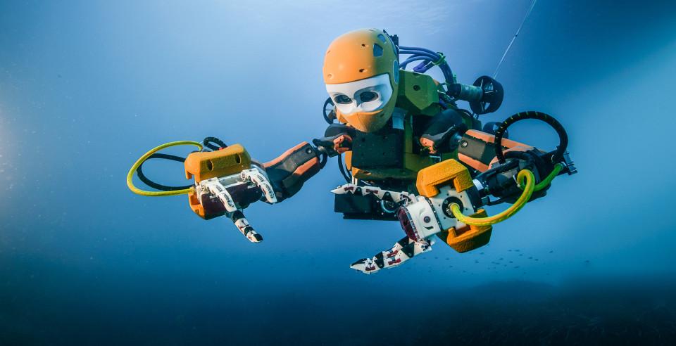 OceanOne, la sirena robot che rivoluzionerà i fondali