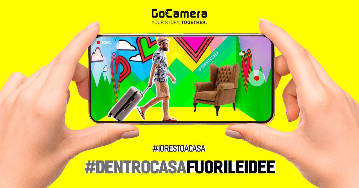 Ecco #dentrocasafuorileidee per sfruttare il tempo libero facendo foto e video