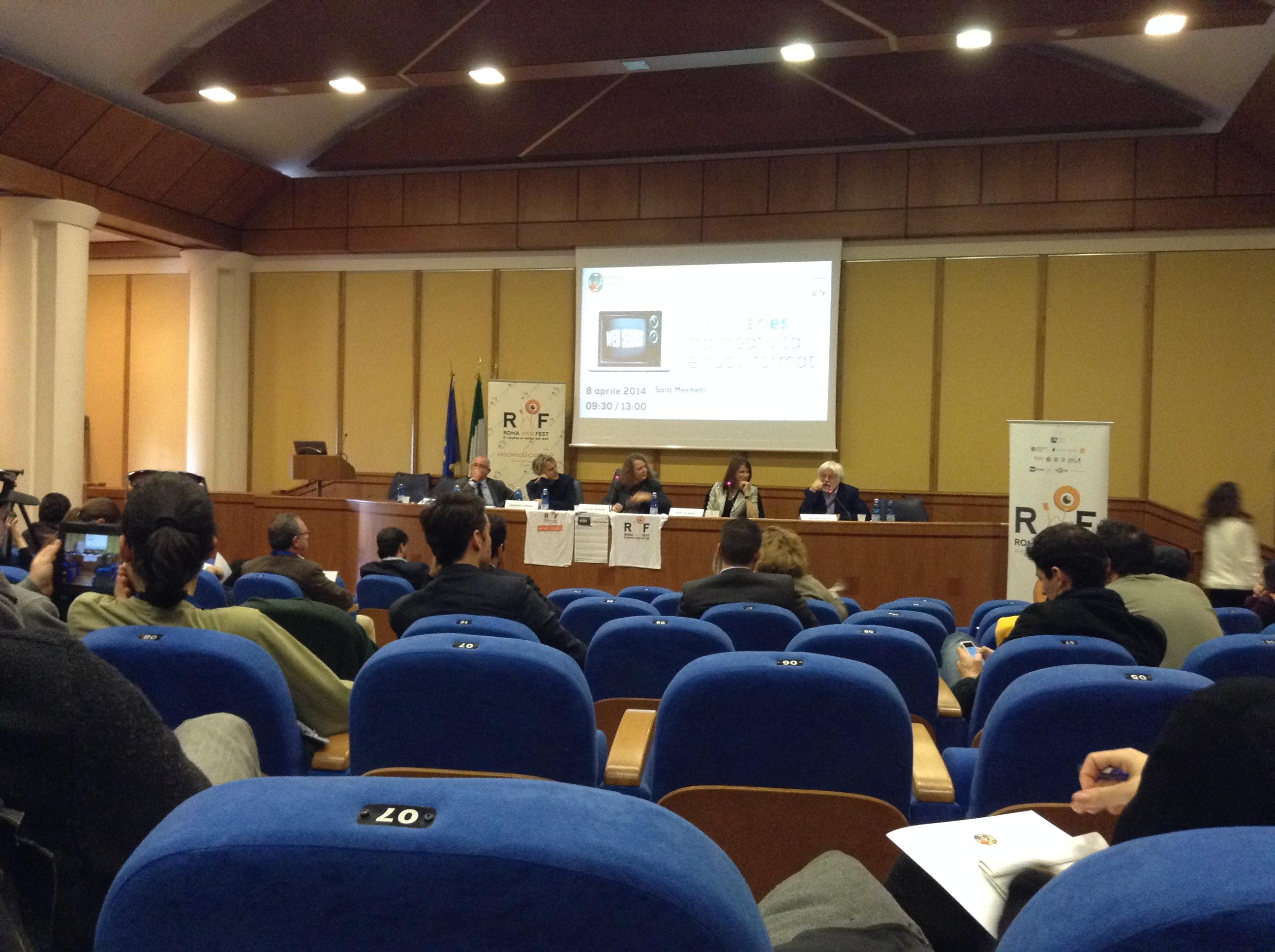 Conferenza Web Series tra creatività e nuovi format