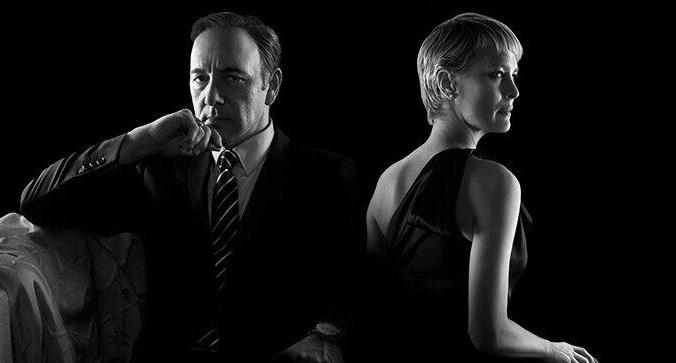 """Frank e Claire """"l'invidiata"""" coppia di House of Cards"""