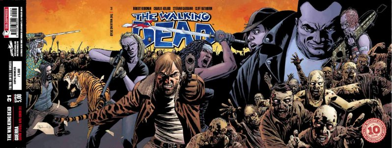 The Walking Dead volumetto 31 – Guerra