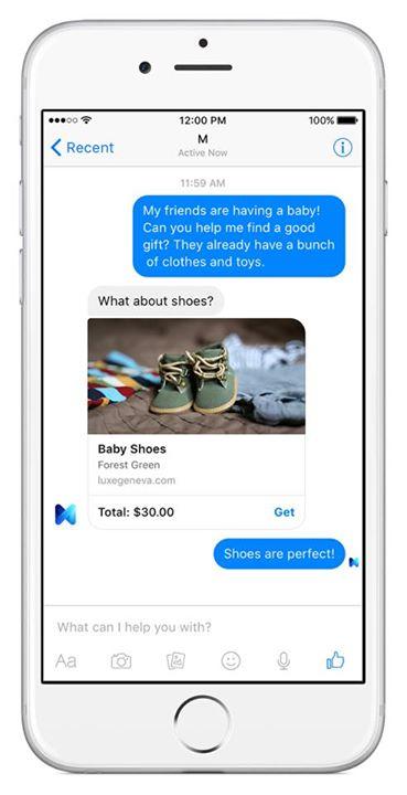 """Arriva """"M"""", l'assistente virtuale di Facebook che non è solo un software"""