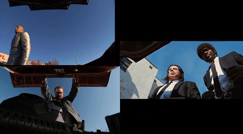 Pensavo fosse Breaking Bad e invece era Pulp Fiction, una serie di scene messe a confronto tra cinema e serie tv
