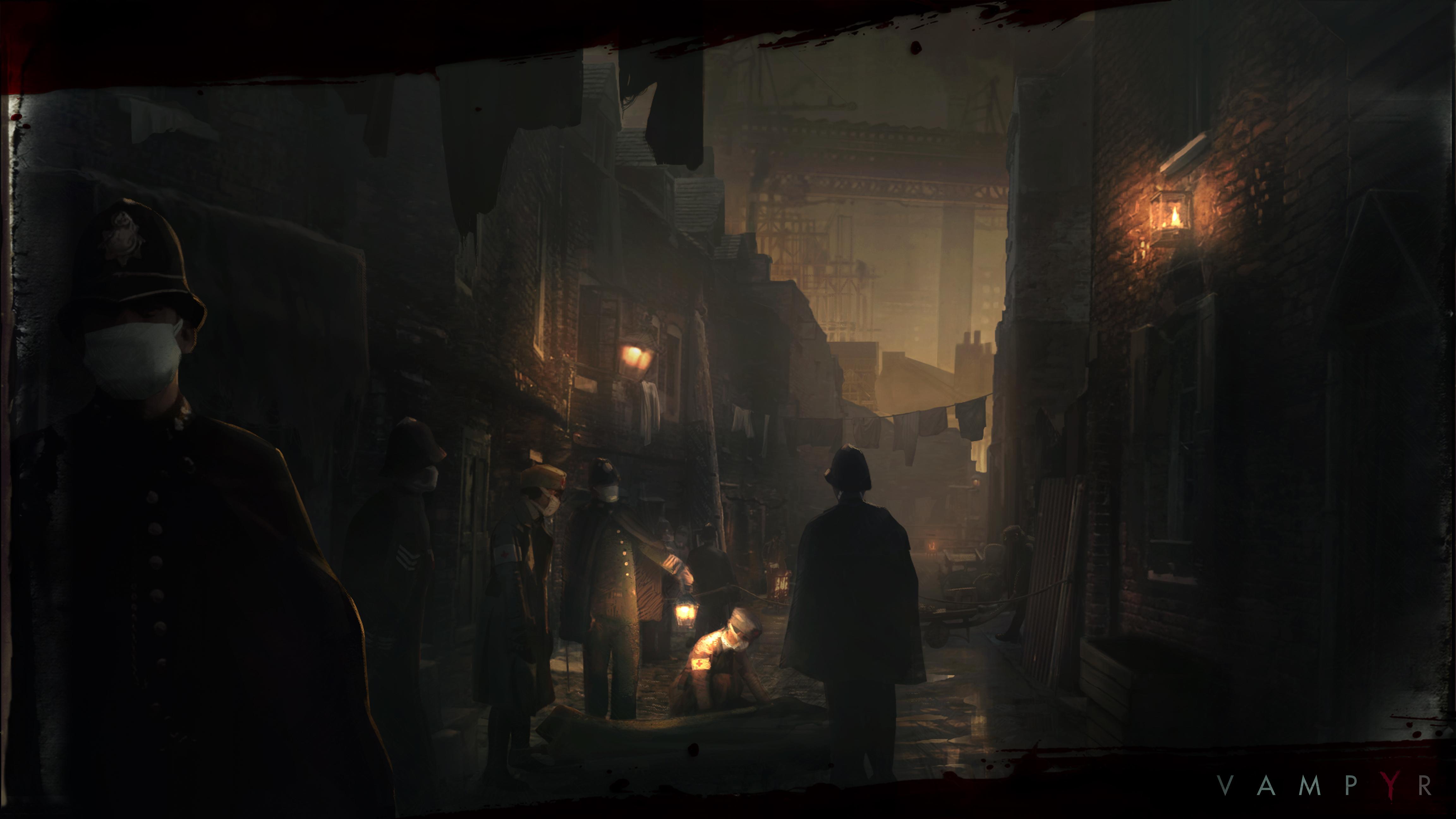 Vampyr, il gioco che racconta Londra devastata dall'influenza spagnola in nuovi artwork