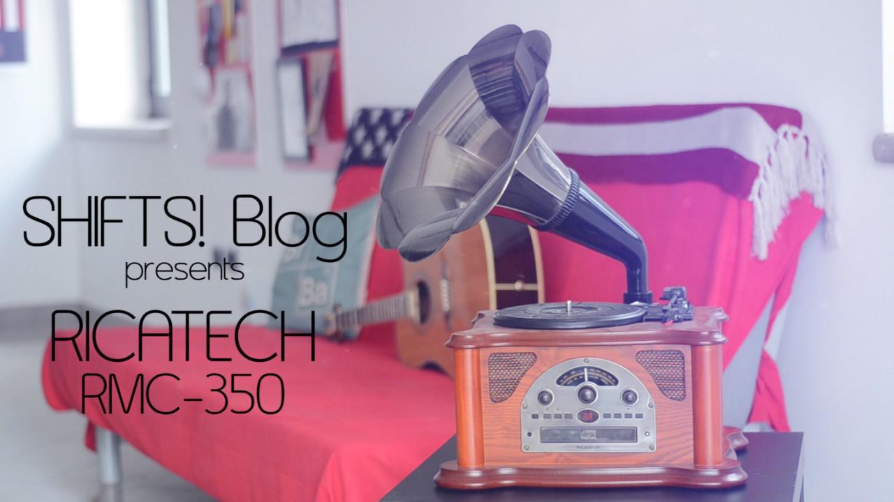 Nostalgici del giradischi? Il Music Center Ricatech RMC350 è quello che fa per voi