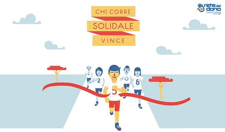 Il fundraising diventa sportivo e solidale con #ReteDelDono #corrisolidale