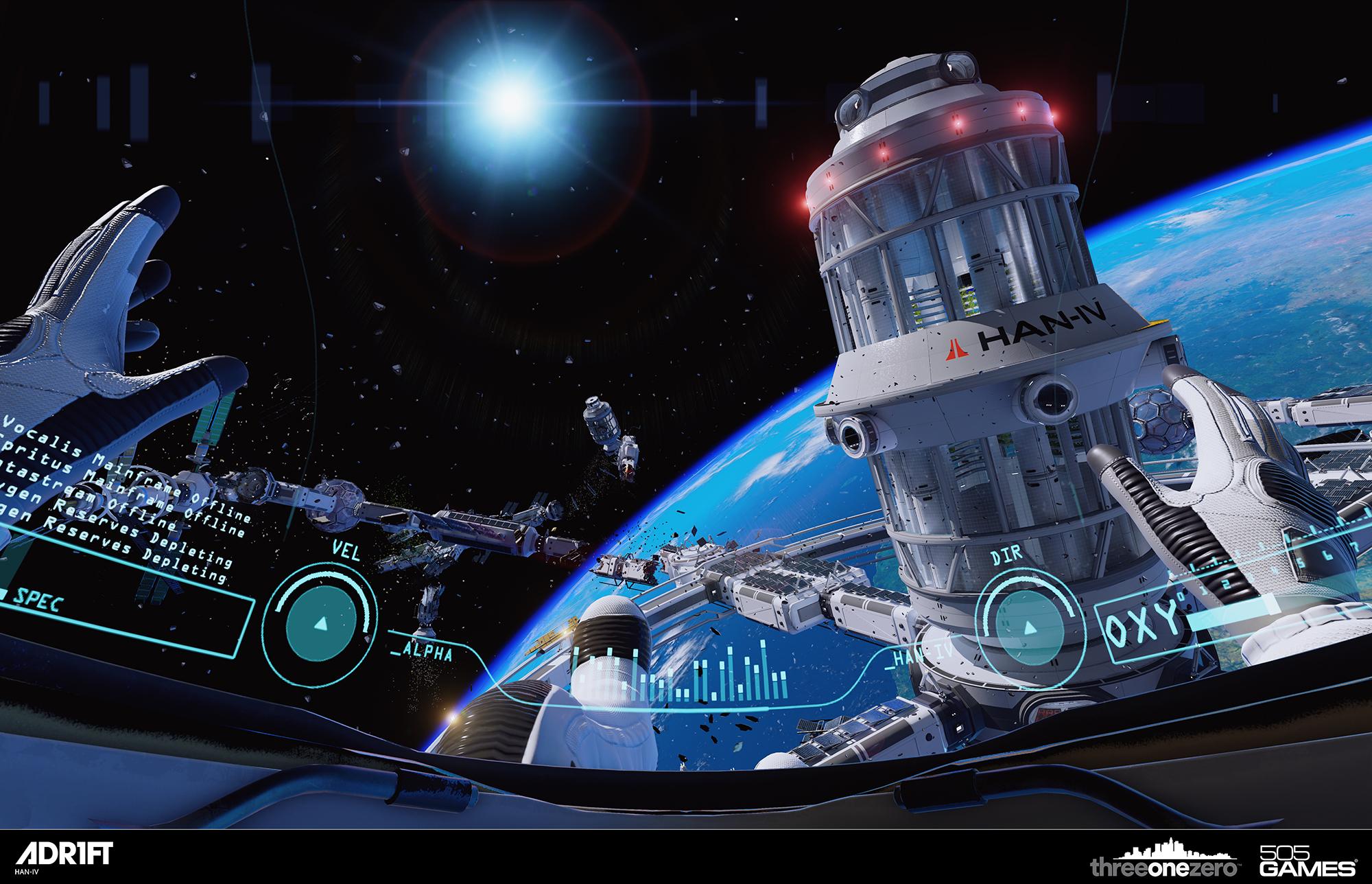 L'esperienza ADR1FT in uscita il 26 Marzo per #OculusRift corona il sogno di essere astronauti