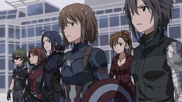 Avete già visto la versione Anime Giapponese di Capitan America: Civil War?