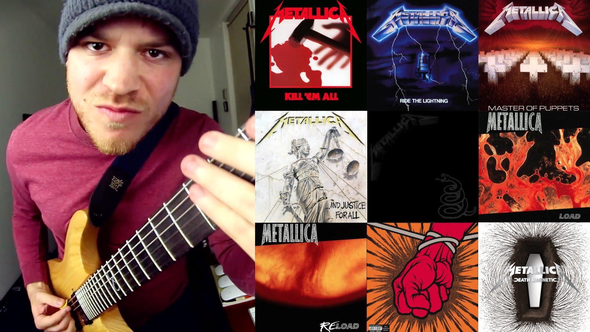 Questo chitarrista suona tutte le canzoni dei Metallica in 4 minuti
