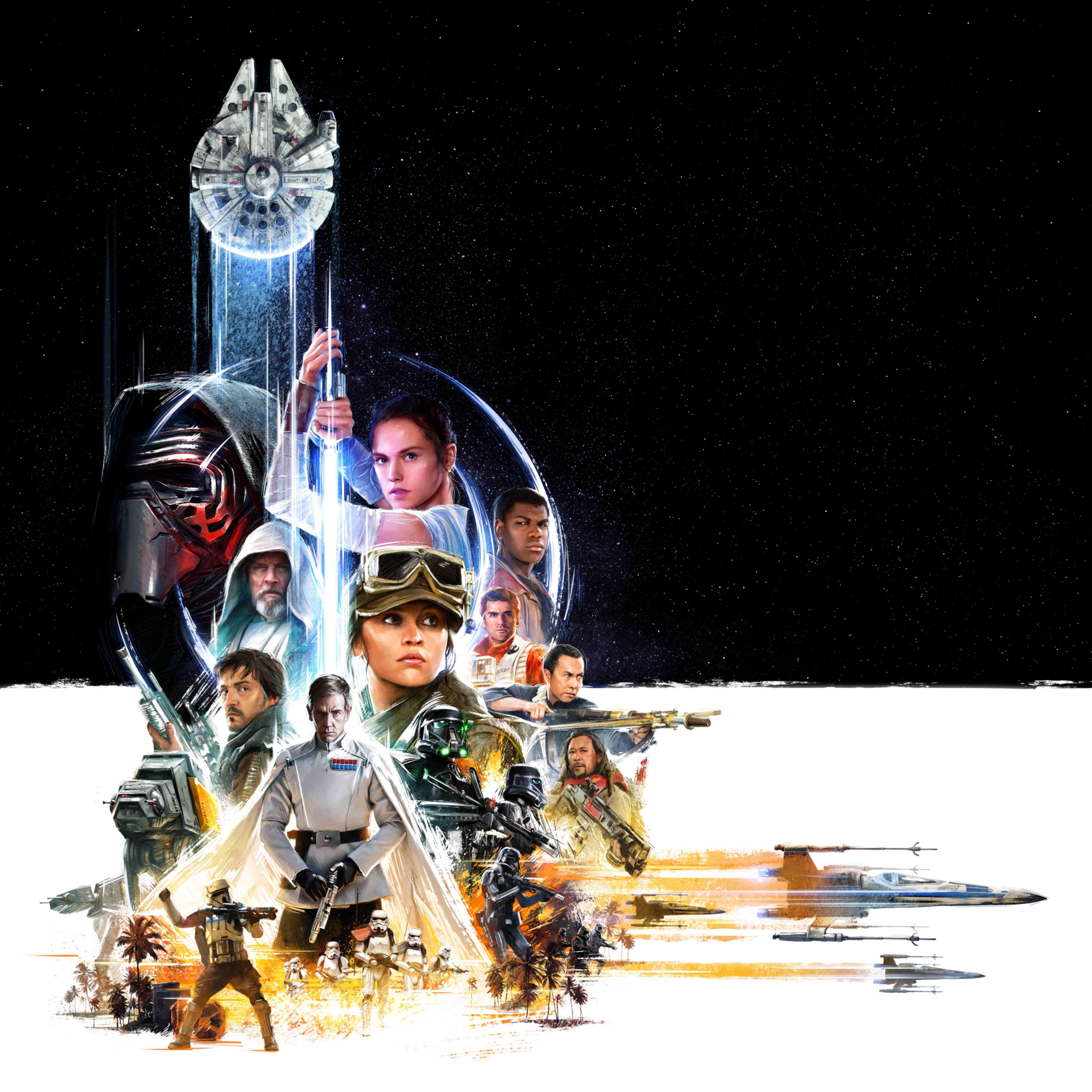 Il poster per la Star Wars Celebration rivela nuovi dettagli dei prossimi film in uscita