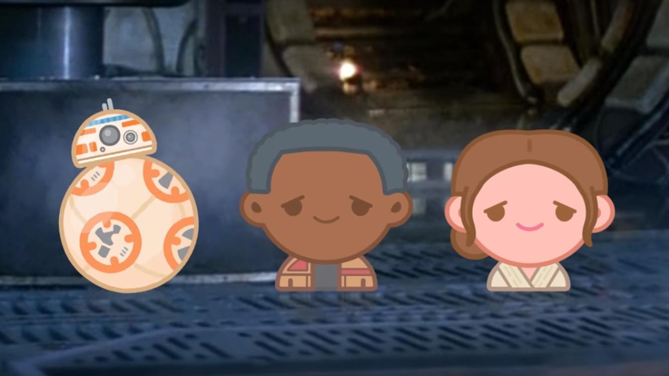 Star Wars: Il Risveglio della Forza raccontato tramite emoji