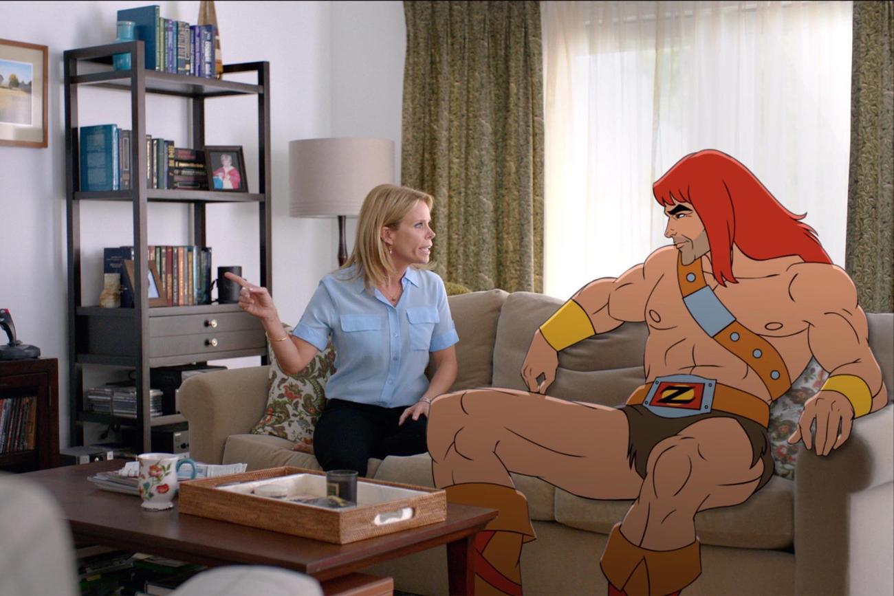 Son Of Zorn, la serie tv che ibrida live-action ad animazione dal sapore anni '90
