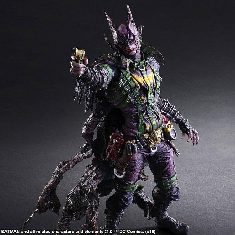Ecco la nuova action figure mash-up tra Batman e Joker di Square Enix
