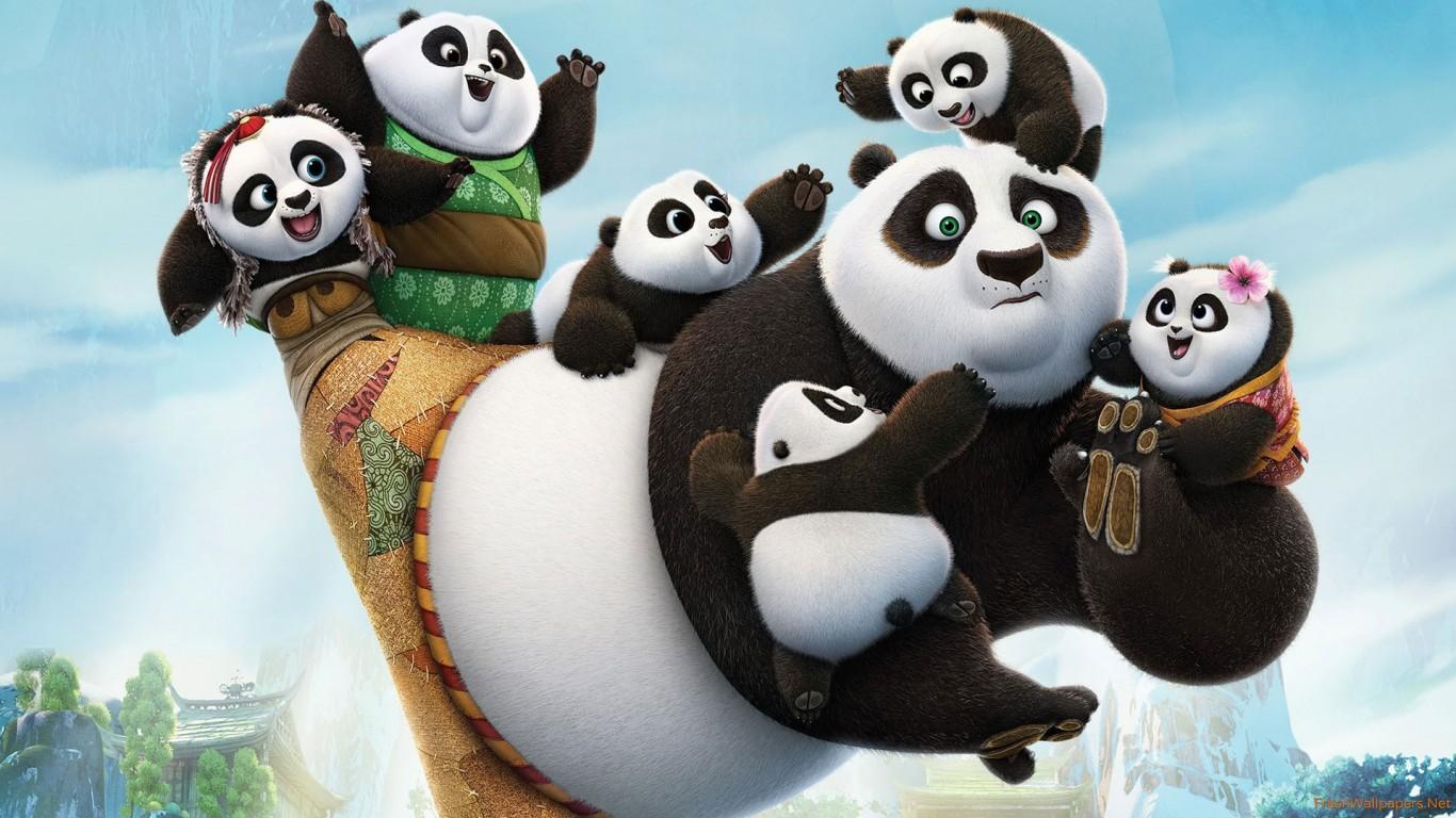 Un natale animato con tutta la saga di Kung Fu Panda su #TimVision !