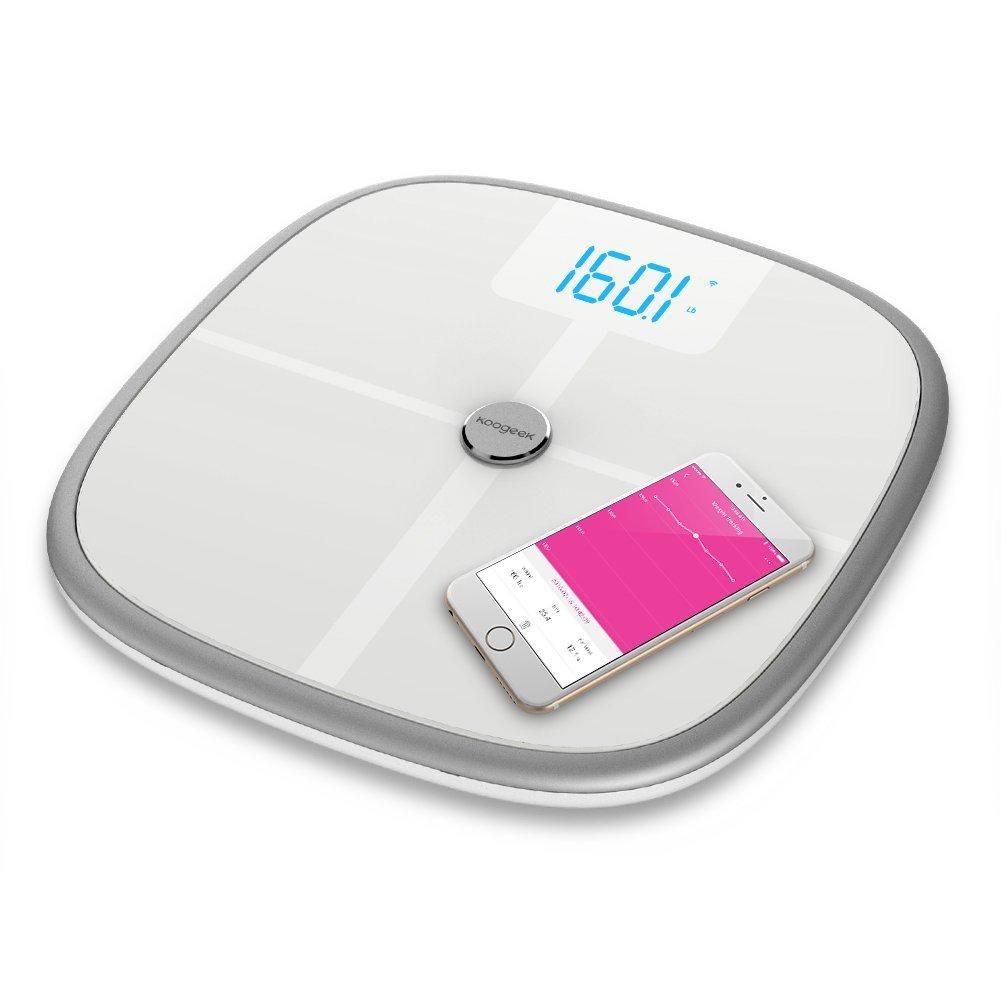 Volete rientrare nel peso-forma? La bilancia smart di Koogeek S1 è lo strumento adatto a voi