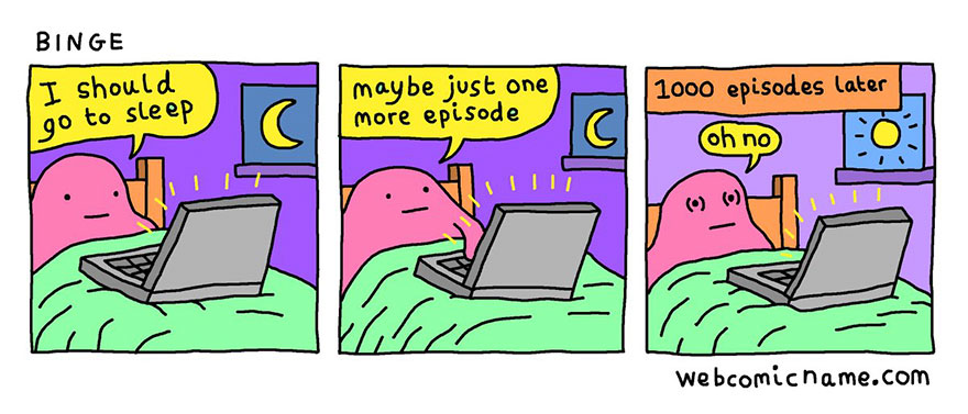 Oh no! Ecco i fumetti di Alex Norris che raccontano l'amarezza di un giorno da adulti
