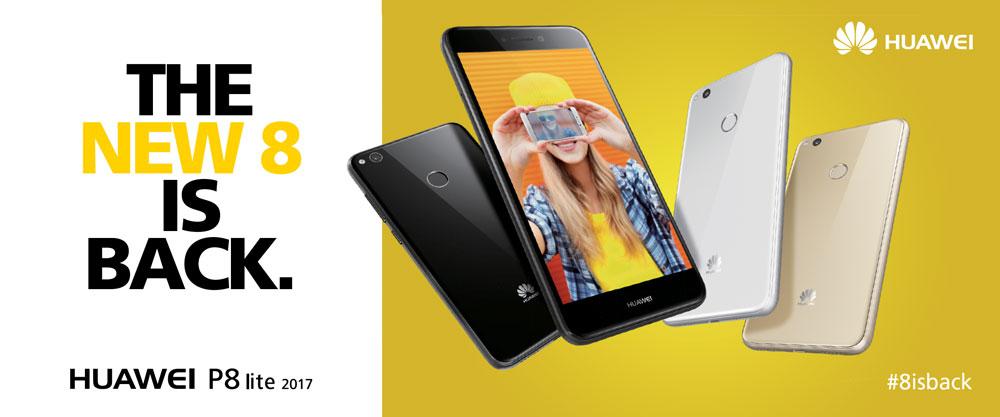 Provate a vincere il nuovo Huawei P8 Lite raccontandolo in un video contest #8isback
