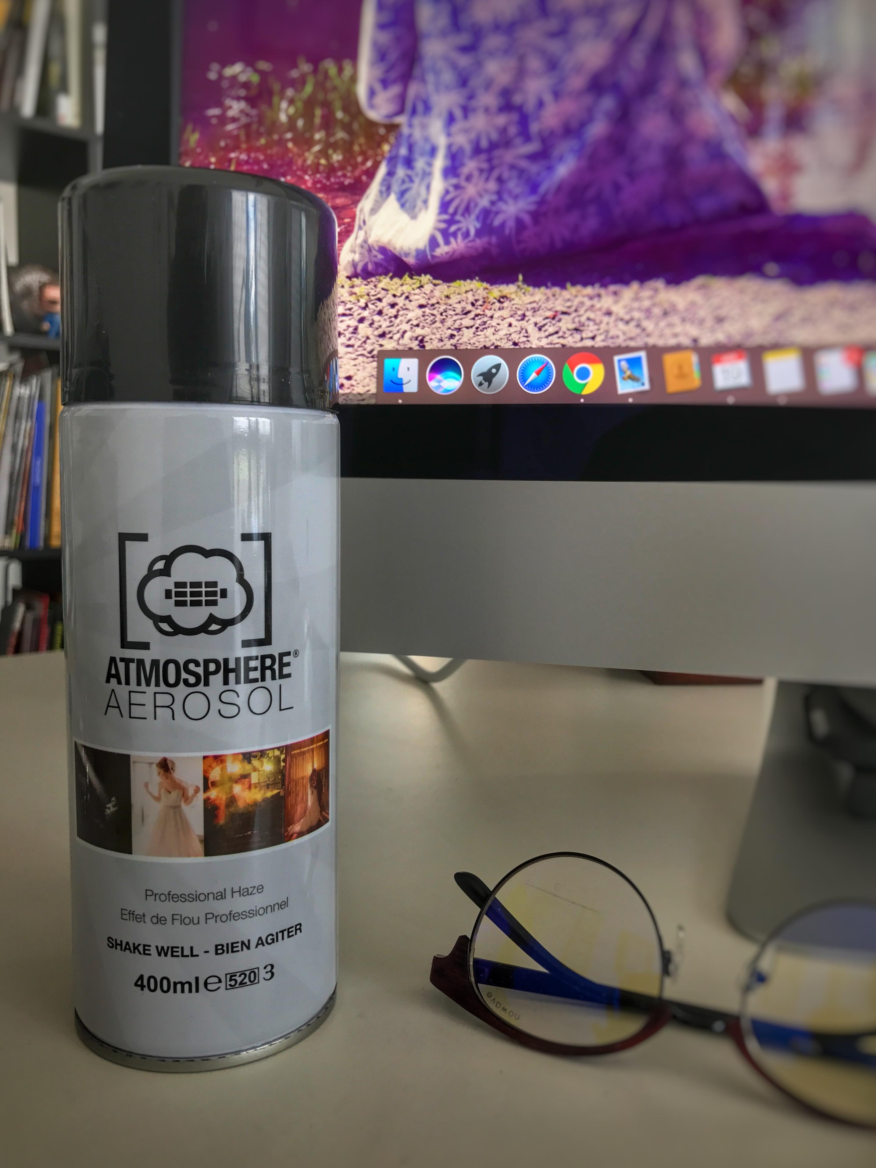 Atmosphere Aerosol, la nebbia in barattolo per fotografi e #videomaker (+ sconto 15% per i nostri lettori!)