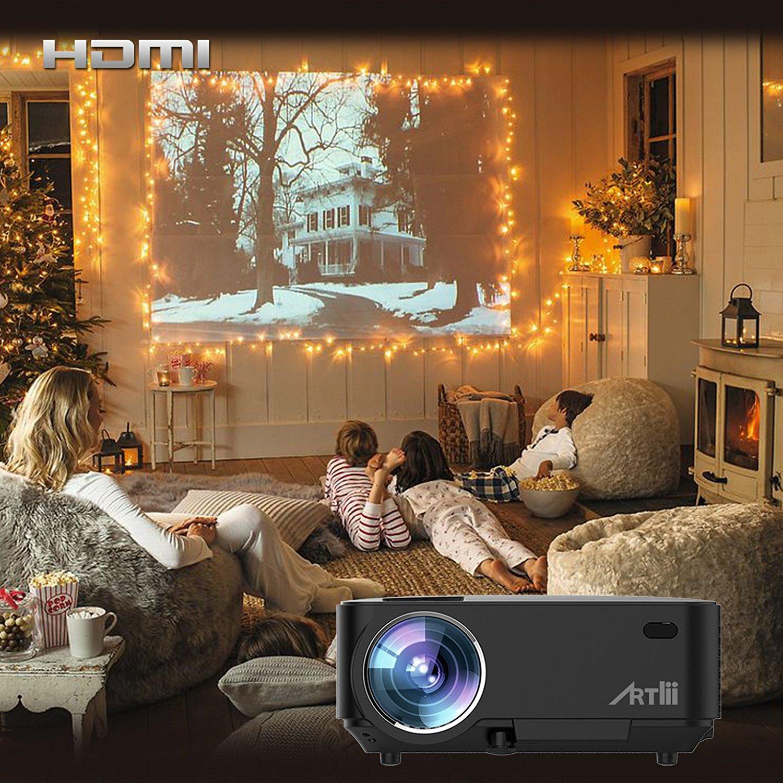 Il proiettore Artlii T20 è la soluzione perfetta per giocare con la Ps4 e la XONE o guardare un film dove vuoi!