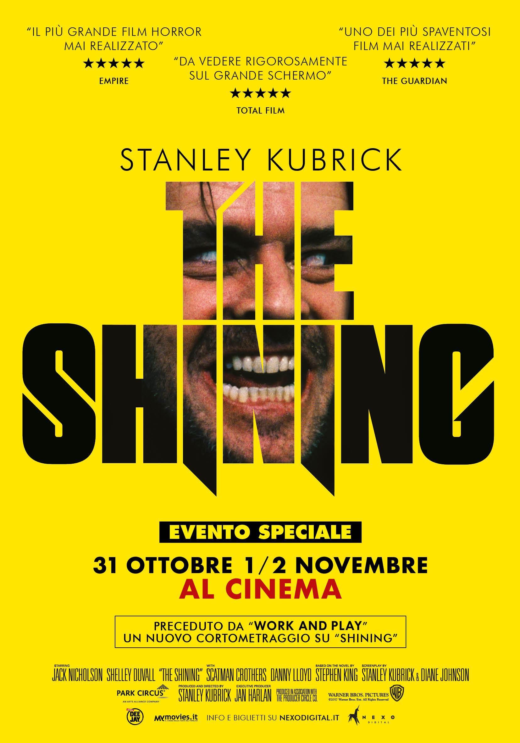 Perché dovete (ri)vedere Shining al cinema il weekend di #Halloween