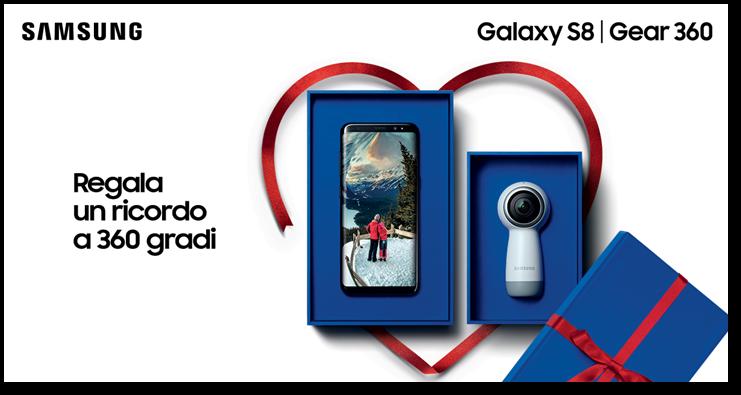 Con Xmas Giftie di Samsung gioca e vinci un viaggio a Bora Bora per due, un Galaxy S8 e molto altro #Giftie #SamsungItalia #ad