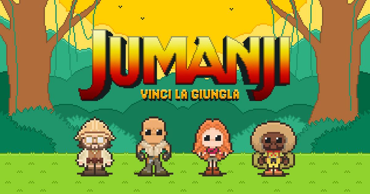 Guarda il sequel di Jumanji, partecipa al contest e Vinci la Giungla!