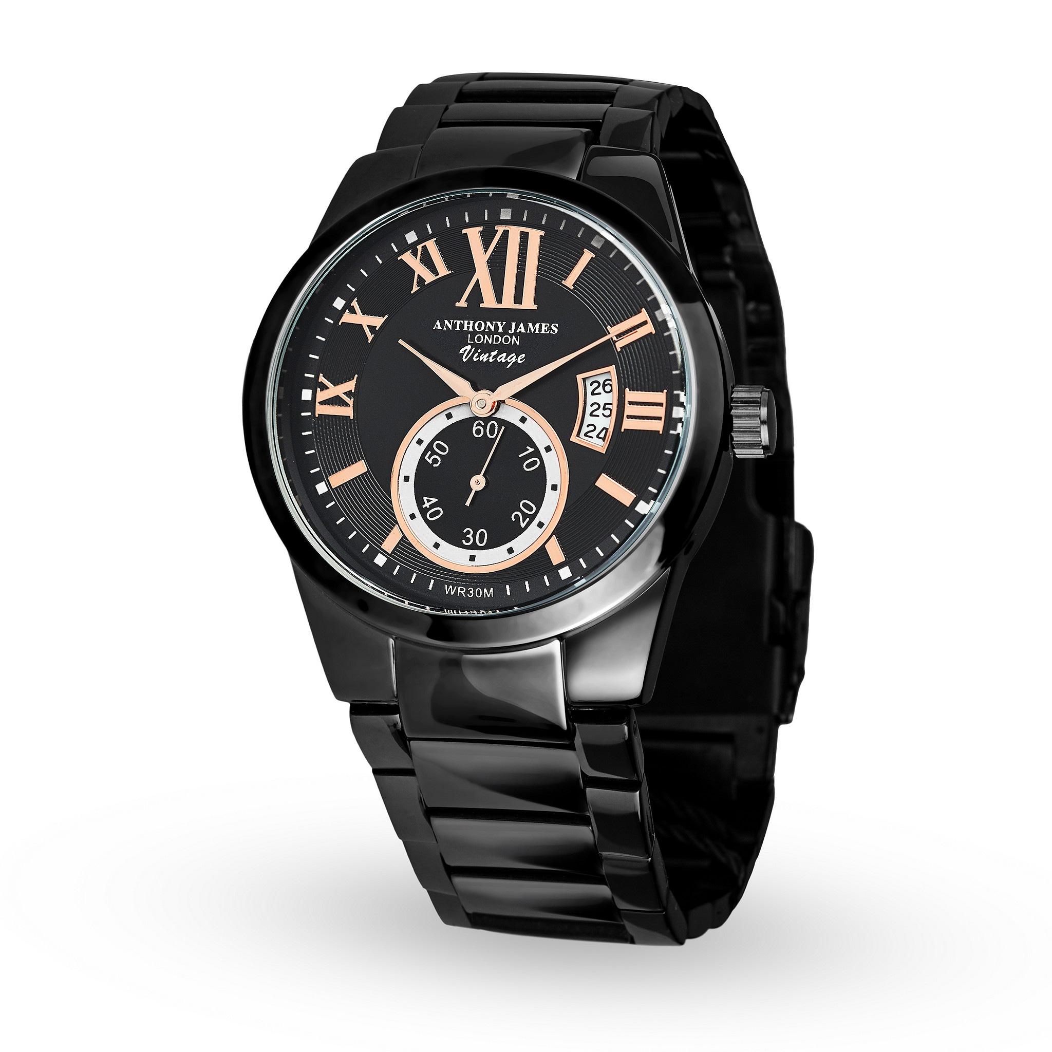 Ecco gli orologi Anthony James of London, vintage dal cuore inglese