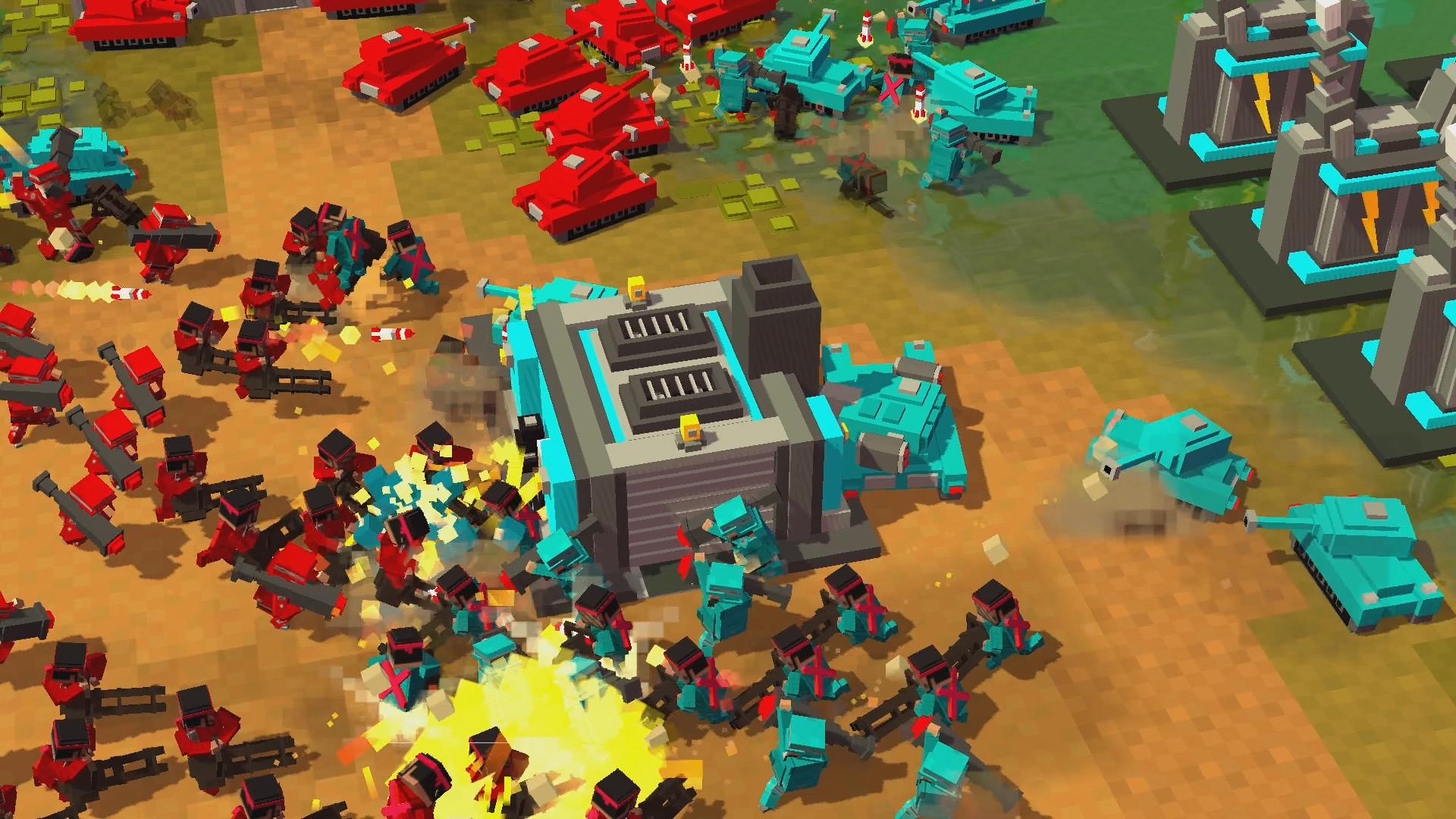 8-bit Armies è arrivato su Playstation 4