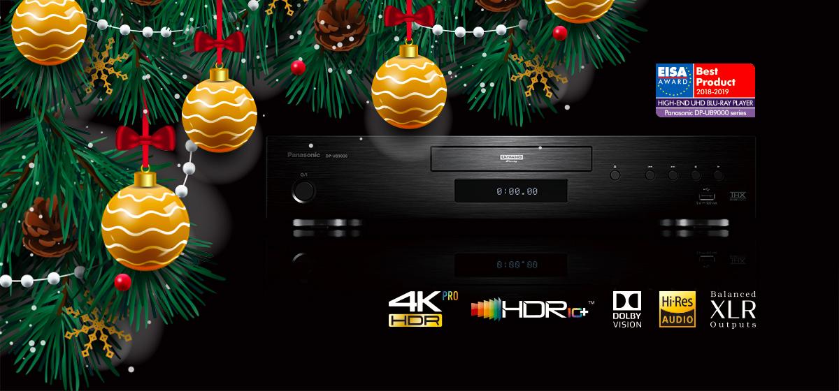 Divano, super plaid e un bel film in 4k: a Natale illumina il tuo salotto con la qualità video dei lettori Blu-ray Panasonic