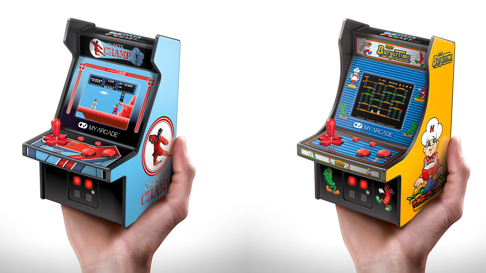 Abbiamo provato i nuovi micro cabinati My Arcade: Burger Time e Karate Champ
