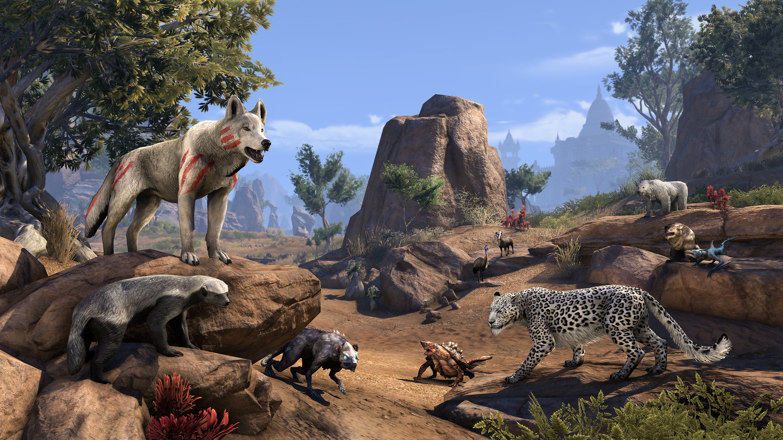 The Elder Scrolls Online salva gli animali sparsi nel mondo