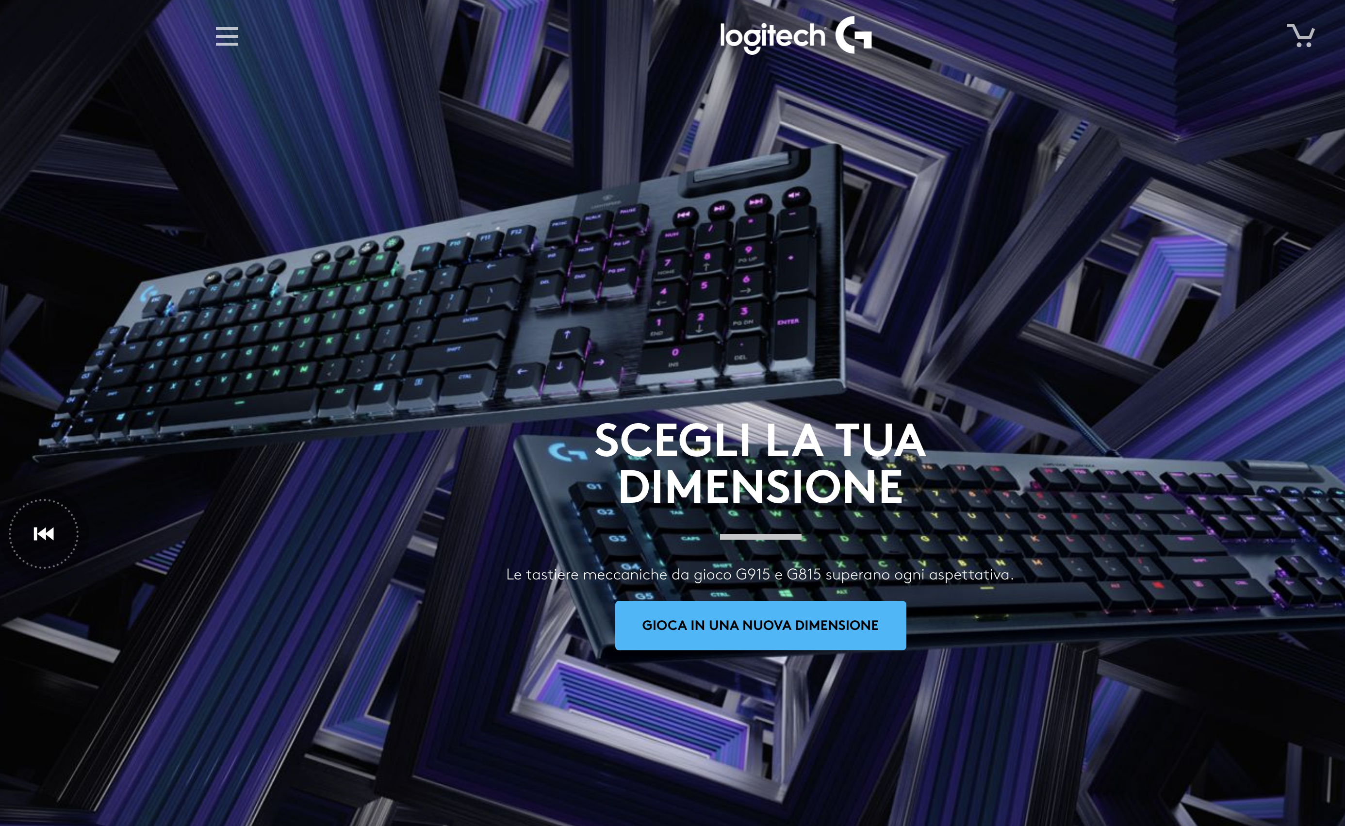 LOGITECH G PRESENTA LA TASTIERA PRO X MECHANICAL GAMING KEYBOARD