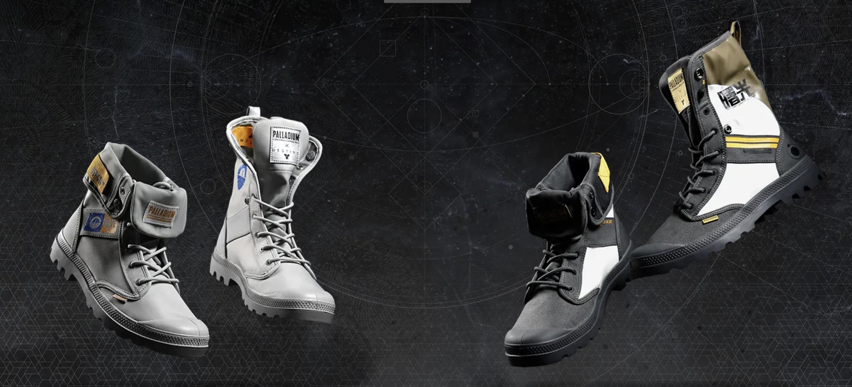 PALLADIUM ha creato un paio di stivali a tema Destiny