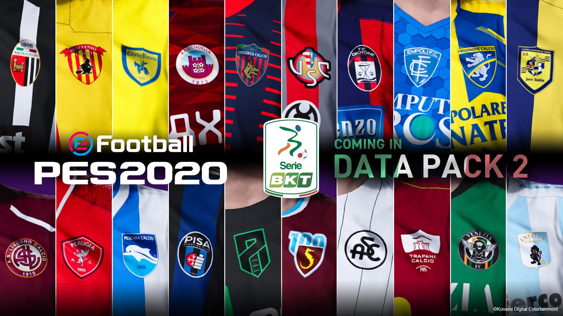Arriva la Serie B su eFootball PES 2020!