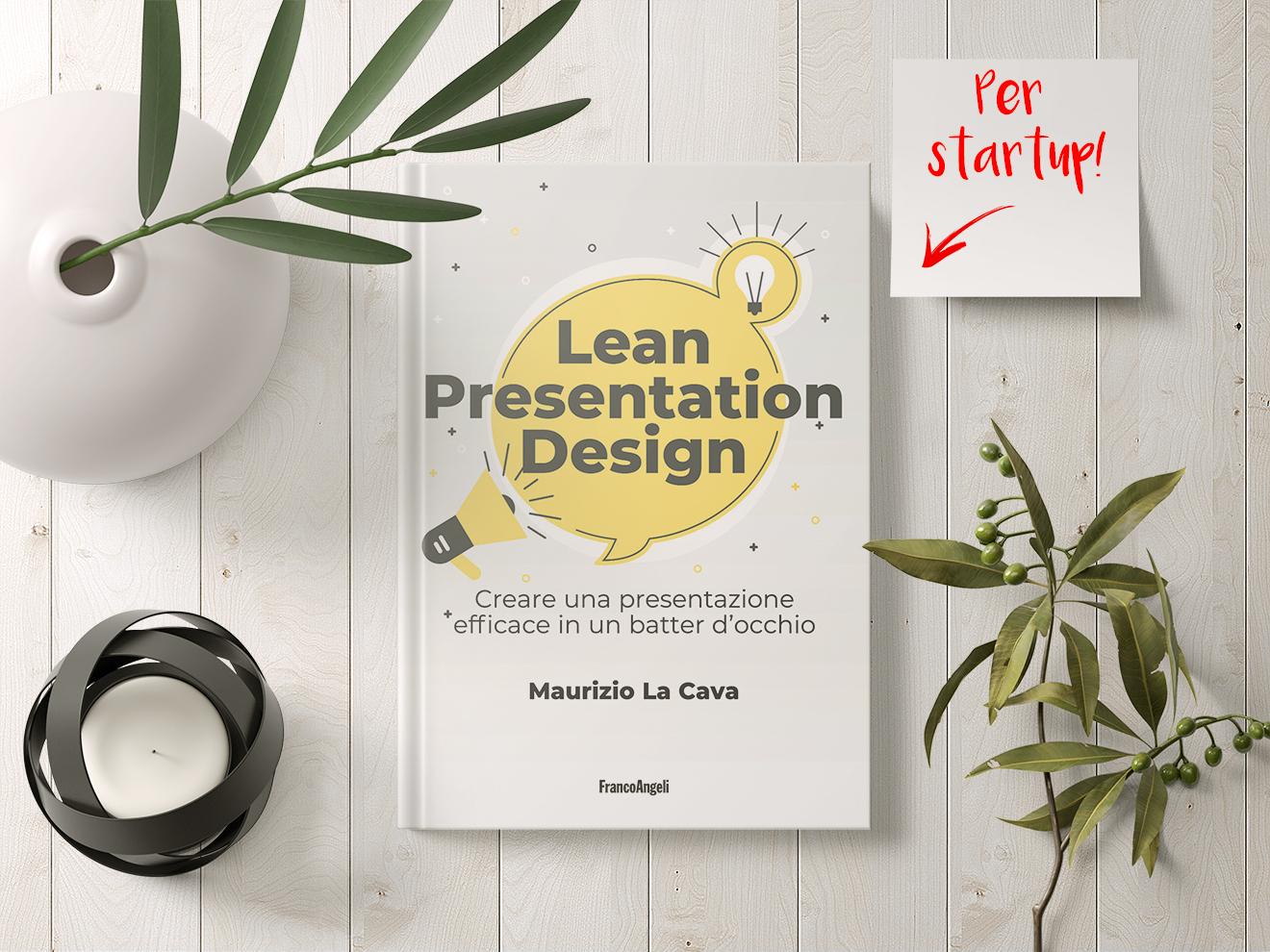 Lean presentation design è il libro per creare presentazioni aziendali tra strategia e operatività