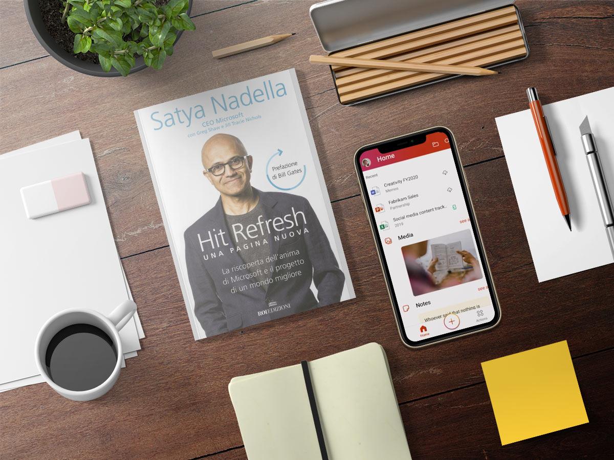 Hit Refresh di Satya Nadella ci insegna che essere imprenditori significa saper cambiare il mondo in meglio
