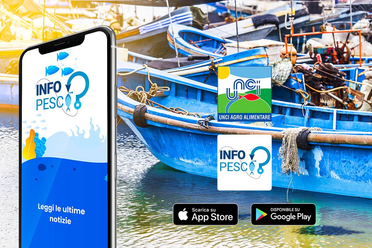 Ecco INFO PESCA la nuova app di UNCI Agroalimentare per smart fishing e consumatori