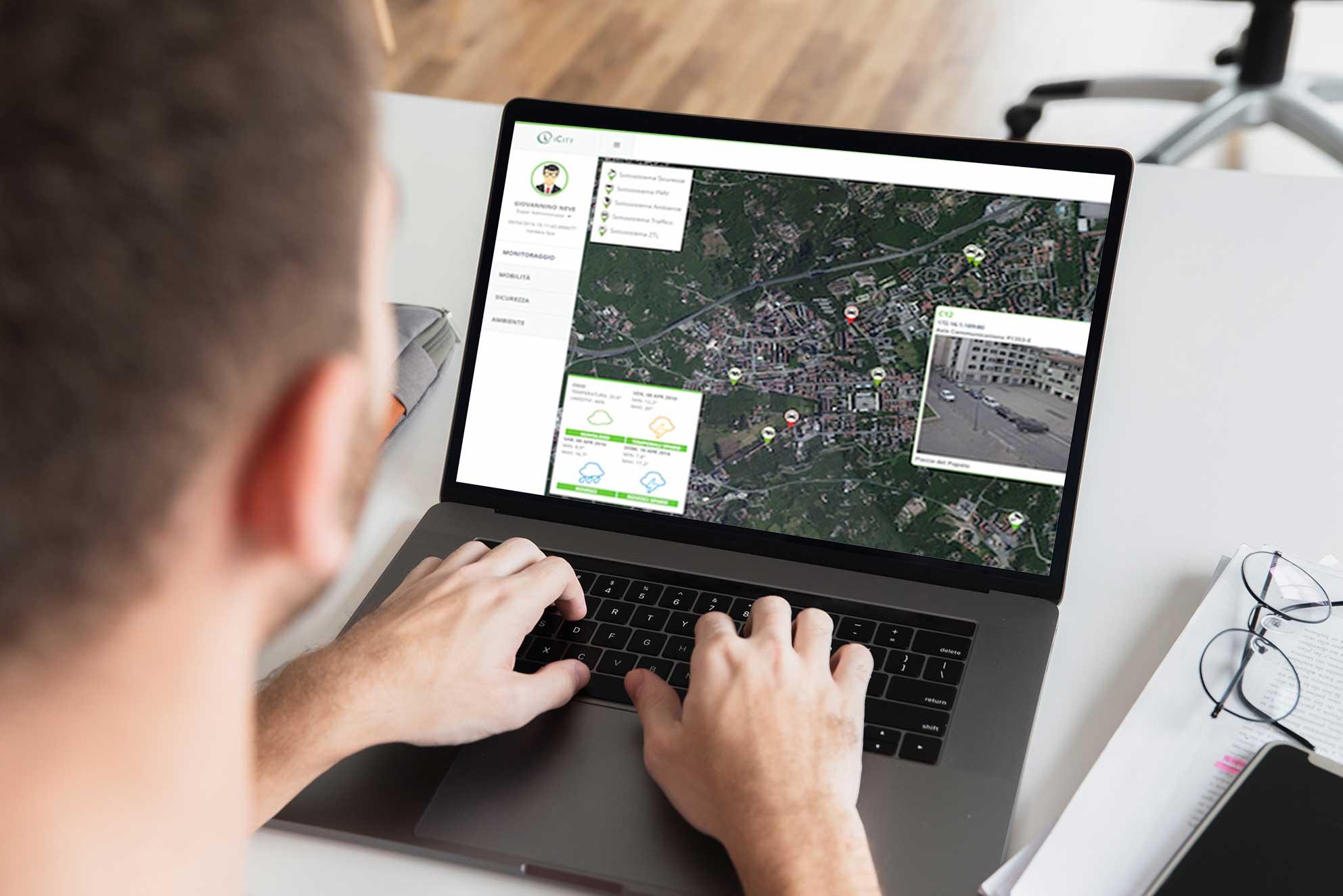 Smart city per l'emergenza COVID-19 grazie ad iCity di Italdata